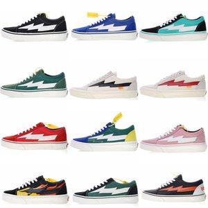 2019 Nouvelle Vengeance X Tempête Vieux Skool Planche À Roulettes Sneakers tendance formateurs occasionnels pour hommes femmes Durable Toile Sport Chaussures drop shipping