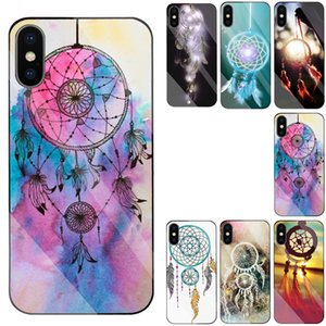 Dreamcatcher Phone case for Samsung Galaxy S7 S8 S9 S10 Plus S10e S20 ultra Note8 Note9 Note10 J710 J6+ A750 with Mirror back cases