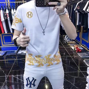 Best Version FRIENDS Printed Women Men T shirts Tees Hiphop Streetwear Black Friends V Cotton Short Sleeve Men T shirt~PP3