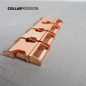 20mm pet yaka DIY Aksesuarları en kaliteli Çinko Alaşım Kaplama Metal toka CK20M 10pcs / lot için Metal Kavisli Yan hızlı Yayın Toka