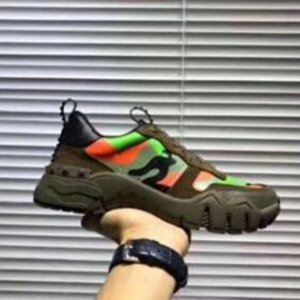 2020 new leather couple men and women breathable mesh casual shoes fashion non-slip color matching trend belt sneakers ac22
