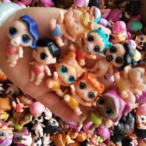 Bambole LOL originale di alta qualità LOL Little Sister Dolls Bambole Muti-Style Casuale serie 3 Series 4 Bambini Carino Bambola da collezione giocattolo per ragazze nascita