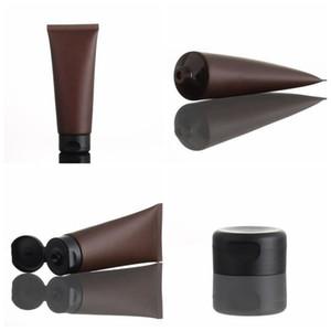 100ml vaciar Mate cosmético de muestra del tubo de maquillaje Squeeze Embalaje Contenedores Loción facial botella Limpiador Shampoo Crema KKA7929