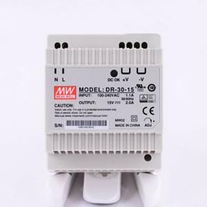 뉴 평균 잘 DR-30-15 15V 2A 전원 공급 장치 #QW 전환