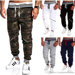 Pencil Pants Designer Masculino Hommes Pantalone Homens Camuflagem Casual Pants Elastic Esportes