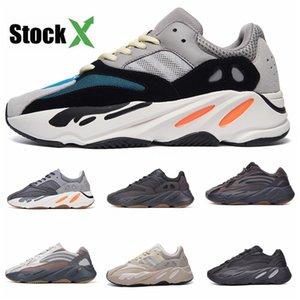 Cheap Running Shoes 700 Kanye Wave Runner Mauve Inertia West Triple White Gum Salt Shoes Men Women V2 Static Sports Sneakers Size 36-4#QA136