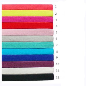 Hair Bands Color Slippery Accessory Rope Headband Yoga Sports Football Running Men Head Wrap Women Candy Prevent Elastic Wholesale Head Bexi