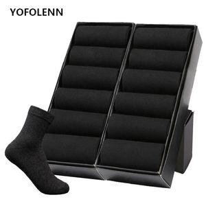 12 pares Lote / Plus Size do Men Cotton Socks Negócios Homens Desodorante tripulação Socks respirável Masculino sólida Tamanho EUA Color (7-11,5) da UE 39-48