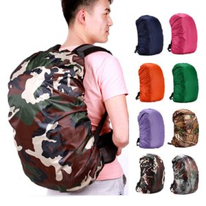 Climbing Backpack Rain Cover Backpack 35L 45L 50-70L Waterproof Bag Cover Camo Tactical Outdoor Camping Hiking Dust Raincover