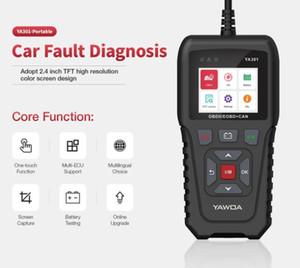 OBDII Code Reader YA301 Scanner Tool Battery Check Mode 6 PK OBD2 AS KW680 AL319