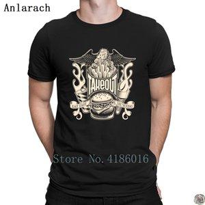 Imbiss-T-Shirt Kostenloser Versand Design bestes Baumwoll-T-Shirt für Männer 2018 Herren Sommertop Anlarach Einzigartige