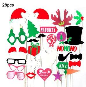 Navidad sombrero de papel divertido de la fiesta Interesante fotografía apoya Niños Juguetes Decoración