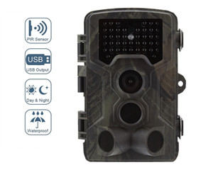 3G MMS Trail Hunting Camera HC800G 3PIR 0.3s Trigger 16MP Infrared Outdoor Waterproof Wildlife Cameras Scouting Tracking T191016