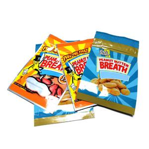 Peanut Butter Breath Smell Borsa Proof Borse Mylar con chiusura lampo Stand Up Pouch Packaging Borse 3.5 grammi DHL
