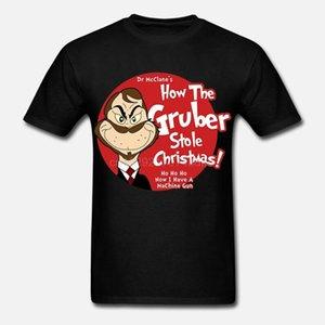 Printed Men T Shirt Cotton tShirt O-Neck Short-Sleeve New Style How the Gruber Stole Christmas Die Hard Women T-Shirt