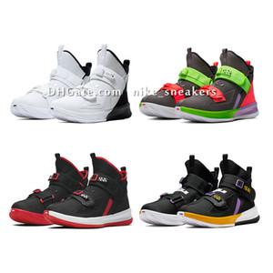 LeBron Soldier 13 Hommes Femmes Enfants Filles Garçons chaussures de basket-ball à vendre LeBrons xiii James MVP Noël BHM Oreo bottes Taille de US4-12