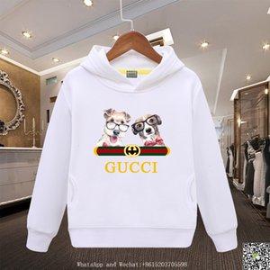 Müthiş Kapüşonlular Pamuk Triko Sığır Kargo Kız Saf Renkler Bahar Giyim Erkek Bebek Giyim 121007