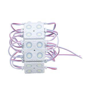 Injection Lens Led Module 5730 SMD 4 LED 12V Waterproof IP65 For Sign Advertising Backlighting Light Box Cool White
