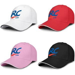 Unisex RC Cola Logo baseball di modo Sandwich Cappello personalizzato conducente Carino camion della protezione Royal Crown Drink bandiera americana di marmo bianco Logos