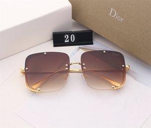 2020 Medusa rand Lunettes de soleil Lunettes de soleil de haute qualité Hommes Lunettes femmes Lunettes de soleil UV400 lentille unisexe lunettes de soleil de luxe pour femmes