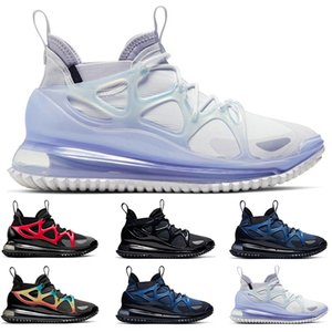 2020 new arrivel Horizon mens running shoes Mystic Navy Chalk Black Rainbow White Iron Grey University Red sinks size 40-46