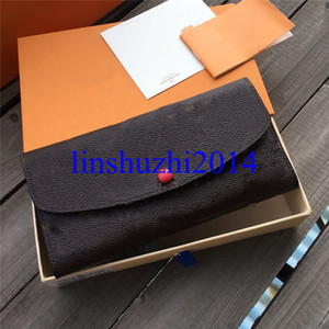 2020 New High Quality Fashion Leather Wallet Luxury Purses Women Wallets Designer Card Holder Famous Wallets Long Style 8 colors