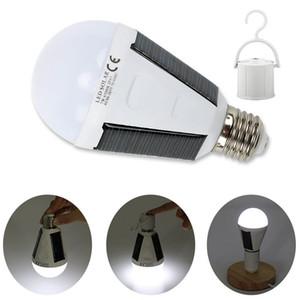 panneau solaire intégré WholeSale Outdoor Power Lampe Ampoule portable énergie solaire lampe LED d'éclairage