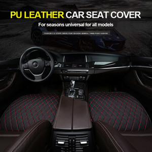 Car Seat Cover Cushion Automobiles PU Leather Universal Auto Interior Accessories Four Seasons Protect Set Chair Mat Car-styling