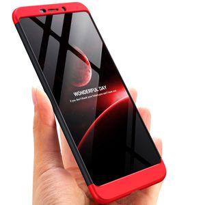 Для Nokia 6 2018 Case 3 в 1 Hard Plastic Ultra Thin Slim Fit 360 градусов всего тела Защитный противоударный Anti-Царапины Case
