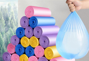 Hot Garden 100pcs pack Home Disposable Garbage bag Disposal Trash Bags Kitchen Breakpoint One-off Cleaning Bag Rubbin Junk Bag Organizer