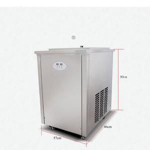 Entièrement automatique machine à popsicle authentique machine à crème glacée machine à popsicle main commerciale mode simple au nord-est grande plaque mac