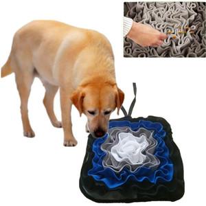 Perro snuffle Mat, Mat alimentación del perro lavable snuffle Pad Formación Olor Manta Nariz Trabajo Alimentación Mat estera del animal doméstico actividad de forrajeo de instinto