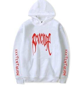 XXXTENTACION Rapper Commemorative Pullover Sweatshirt XXX RACHE Brief Hände Palm Print Pullover T-Shirt Männer Frauen Fashion Design Hoodies