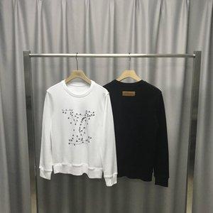 2020 new autumn Starting Embroidery big letters V men's designer hoodie Sweatshirts Cotton round neck blank pullover hoodie S-XXL 706