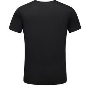 T-shirt respirável homens de moda e mulheres dos homens de luxo de verão T-shirt 1920 da forma dos homens casuais de manga curta em torno do pescoço