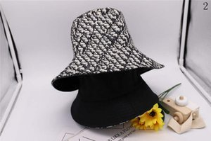 Diseñador de la mujer del hombre del casquillo del sombrero del cubo Caps Designerl béisbol cupo los sombreros tapa caliente Beanie Casquette34