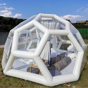 Hotel barraca inflável transparente