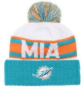 En gros Sport Hiver Chapeaux Miami Cousu Logo Logo Marque Chaud Hommes Femmes Vente Chaude Bonnets Tricotés Pas Cher Bonnets Mixtes, snapback hat