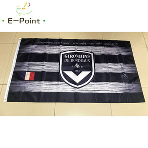 France FC Girondins de Bordeaux 3*5ft (90cm*150cm) Polyester flag Banner decoration flying home & garden flag Festive gifts
