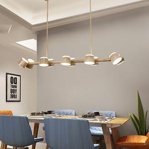 Moderne Dinning Room Drehbare Kronleuchter Nordic LED Kronleuchter Beleuchtungskörper Nordic Wohnzimmer-hängende Lampe / Suspension 90-260V