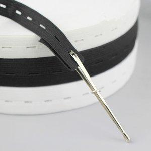 2PCS مطاطا الحبل حبل الإبرة كليب ذاتية الغلق الملقط تستخدم للحصول على الأشرطة المطاطية الخياطة اكسسوارات DIY أداة HOM11-2