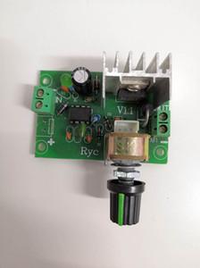 Controlador de velocidad del regulador del motor de CC CC 6-15V Motor gobernador 100W 12V PWM PWM controlador de motor DC