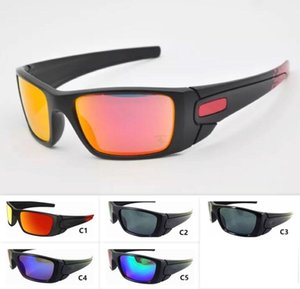 5 Colori Mens Sports Occhiali da sole Cool Big Frame Outdoor O Eyewear Occhiali da moto Occhiali da sole unisex Occhiali da ciclismo