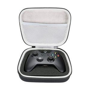 Nueva EVA duro caso del recorrido de transporte bolsa de almacenamiento portátil para Xbox One / One S / Controlador uno X con el bolsillo de malla adapta Plug Cable