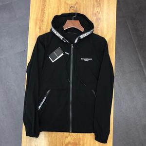 Herren Designer Jacke Damen Luxus Streetwear Jacken Marke Sonnenschutz Jacken Weiß und Schwarz Tops Neu Herren Damen Bekleidung