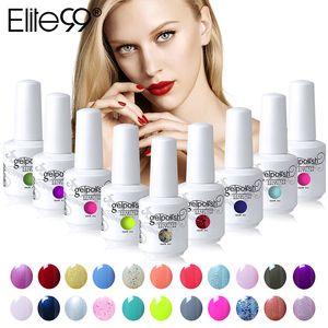 Elite99 15ml soak off gel esmalte polonês longo duradouro gel vernizes nail art gelpolish escolha 10 peças de 539 cores lindas