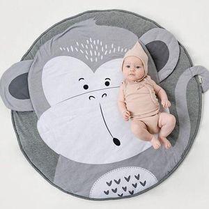 INS Baby-Creeping Mats Fox Hirsch Einhorn Kaninchen Löwe Schwan Play Game Mat Dekorative Krabbeln Decke Kinder Boden Teppichboden 17 Arten FJ510