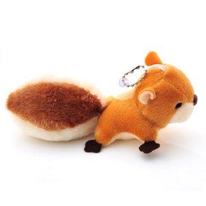 20cm Küçük Sincap Pendant Çanta Oyuncak İçin Çocuk Teddy Yumuşak Hayvanlar Bebekler Doğum Bebek Totoro Örgü Panda