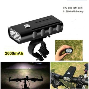 BX2 Bike Light Set, Super Bright USB ricaricabile Luci biciclette, impermeabile Mountain Road Bike Lights ricaricabile, Sicurezza Facile Monte