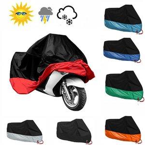xterior Aksesuarları Araba Motosiklet Kapak Açık ATV Scooter toz geçirmez Su geçirmez güneş Motosiklet Koruyucu Araç Kapak Dayanıklı Rain Kapaklar ...
